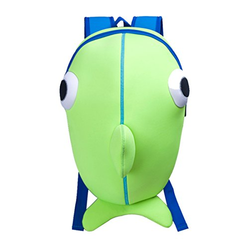 Kids Whale Backpack 3D Cute Zoo Cartoon School Boys Girls Bags
