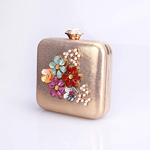 Bag Bottles Small Ladies' Fragrant With Slanting Golden Wind Flowers JUZHIJIA Women'S Bags Perfume qpXAwgfwv