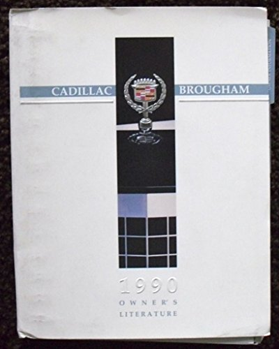 1990 Cadillac Brougham Owners Manual