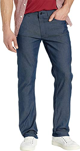 - Kenneth Cole New York Men's Five-Pocket Pants Two-Tone Stretch Indigo 32 30