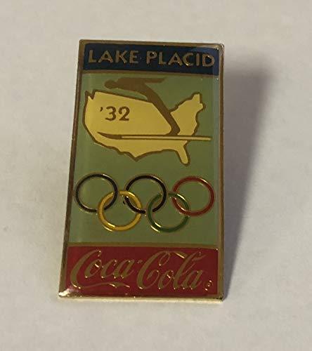 Lake Placid Olympic Coca-Cola Pin