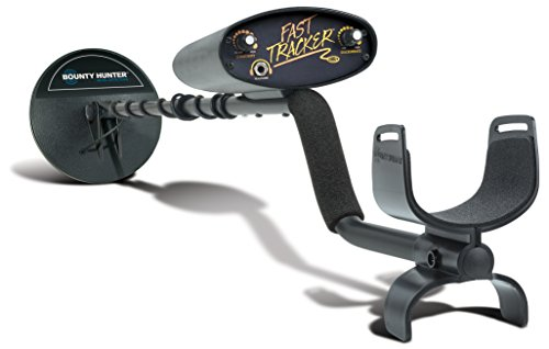 Bounty Hunter Fast Tracker Metal Detector, 7-inch