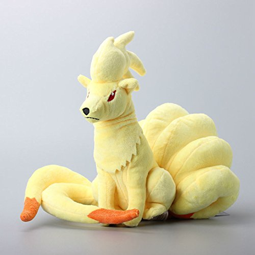 Amazon.com: Pokemon Ninetales Plush Toys Cartoon Stuffed Dolls Brinquedo Kids Gift 10