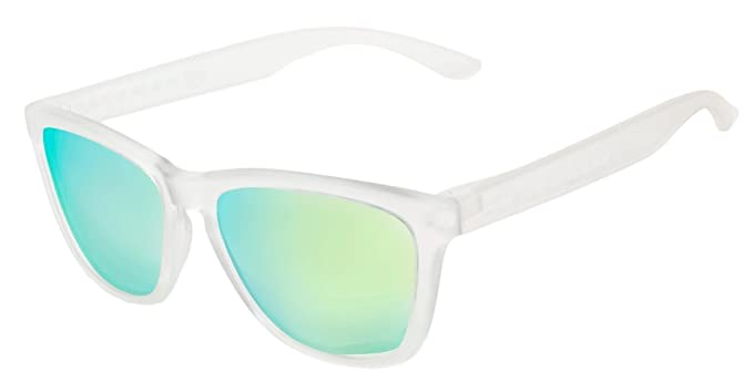 Hawkers - Gafas de sol glaciar white acid one: Amazon.es ...