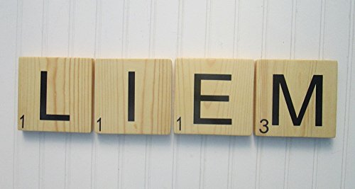 Amazon.com: Large Scrabble Tiles for Words and Phrases. Scrabble ...