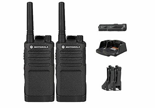 2 Pack of Motorola RMU2040 Business Two-Way Radio 2 Watts 4 Channels Military Spec 20 Floor Range
