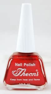 Amazon Com Theons Nail Lacquer 5 Nail Art Vibrant Colors Consistency Long Lasting