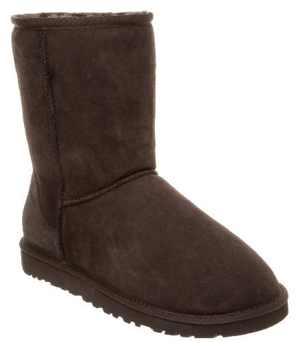 Ugg Classic Short Boot New Chocolate Brown 6 Uk Amazon Co