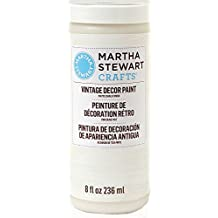 Martha Stewart Crafts Vintage Decor Paint in Assorted Colors (8-Ounce), 33532 Linen