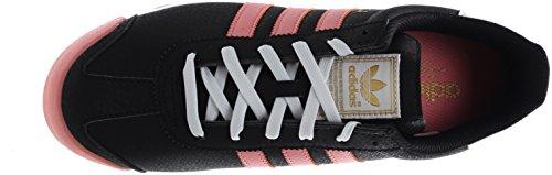 Sneaker Adidas Original Womens Samoa W Nero / Rosa-bianco