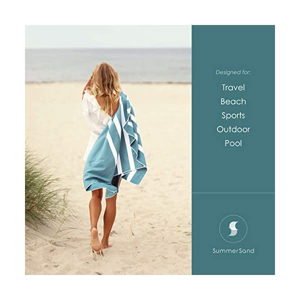 SummerSand Telo Mare Microfibra - Asciugamano Mare Antisabbia e ad Asciugatura Rapida - Telo Palestra Inodore… 7 spesavip