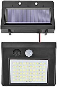 Uonlytech Solar Light Outdoor Motion Sensor 128COB Split Type Waterproof Rotatable Security Lights Flood Light