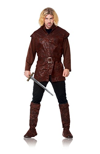 [Costume Culture Men's Medieval Lord Costume Extra Large, Brown, X-Large] (Medieval Mens Costumes)