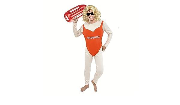 Disfraz Socorrista Pechugona para hombre (L): Amazon.es: Juguetes ...