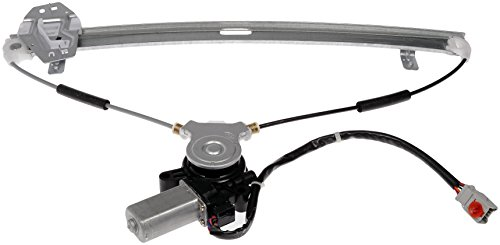 Dorman Front Left Window - Dorman 748-129 Front Driver Side Power Window Regulator and Motor Assembly for Select Honda Models