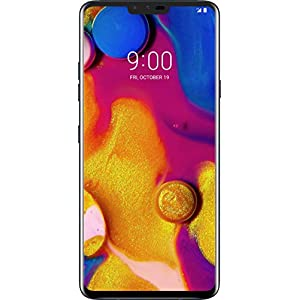 LG V40 ThinQ 64GB GSM Unlocked (AT&T/T-Mobile) 5-Camera Smartphone w/ 6.4″ QHD+ Display – Aurora Black
