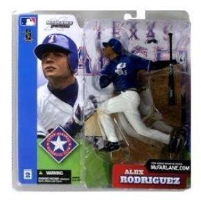 Die Cast Collectible Mlb Baseball - McFarlane Toys MLB Sports Picks Series 2 Action Figure Alex Rodriguez (Texas Rangers) Blue Jersey Variant