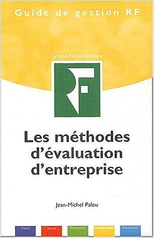 Lire Les méthodes d'évaluation d'entreprise pdf, epub