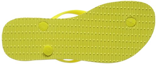 Havaianas Slim, Chanclas Mujer Amarillo (Light Yellow 0013)