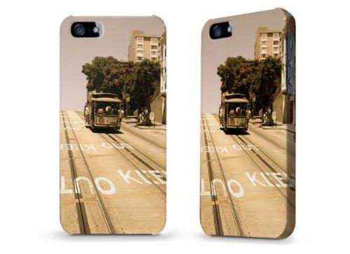 "Hülle / Case / Cover für iPhone 5 und 5s - ""Cable Car"" von caseable Designs"