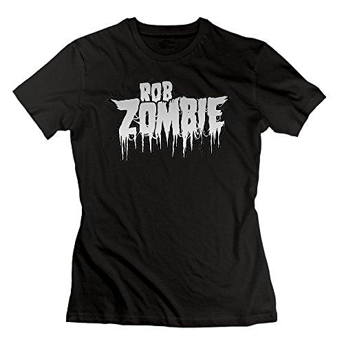Matta Rob Zombie Women's T-Shirts Black XXL ()