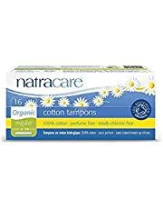 Natracare, 583351 Organic Regular Tampons, With Applicator, 16 ct