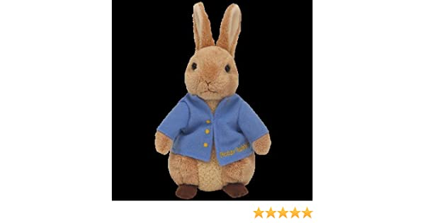 Amazon.com: Ty Beanie Baby - Peter Rabbit the Bunny (Uk Exclusive): Toys & Games