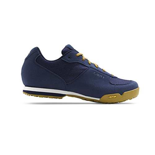 Giro Rumble VR Shoes Men dress blue/gum Größe 42 2017 Schuhe