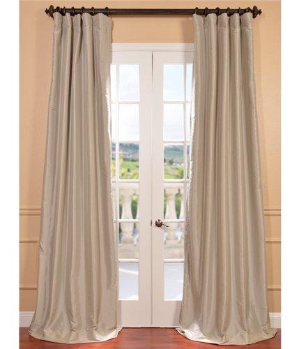 Amazon Curtains Blackout: Faux Silk Curtains: Amazon.com