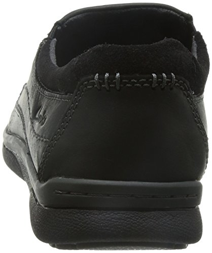 Mocasines para hombre, color Negro , marca CLARKS, modelo Mocasines Para Hombre CLARKS RANDLE FREE Negro Negro