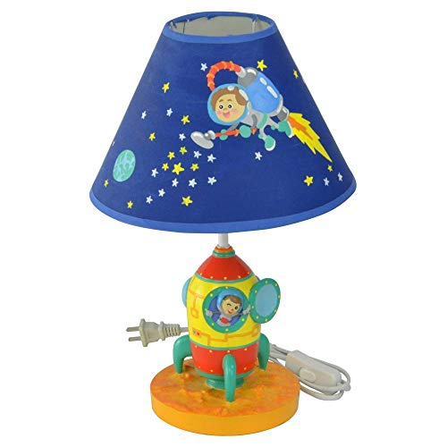 (Fantasy Fields Kids Outer Space Thematic Table Lamp (Renewed))