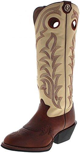 Fb Mode Støvler Tony Lama Rr1013 Sienna Maverick / Brune Hvide Mænd Vestlige Ridestøvler / Buckaroo Støvler / Kvinders Støvler Sienna Maverick (bred D) HI9gZ7