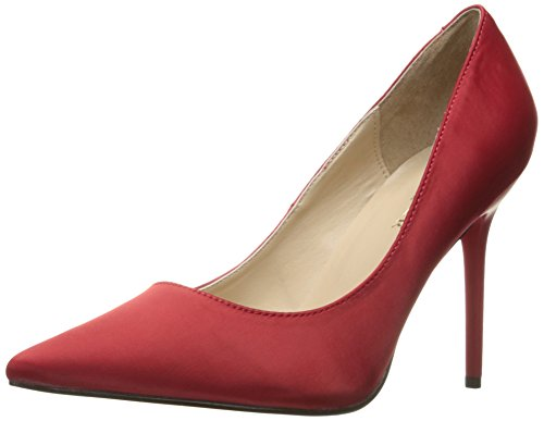 Pumps Red Donna 20 Da Pleaser Satin Classique XwqEnIZZxS