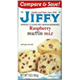 Jiffy Raspberry Muffin Mix 7-oz Boxes (Pack of 6)