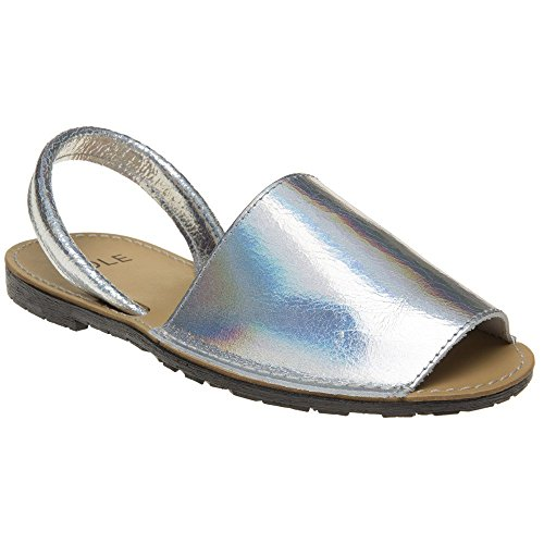 Metallic Toucan Holographic Sole Sole Toucan Sandals pxwq4InR