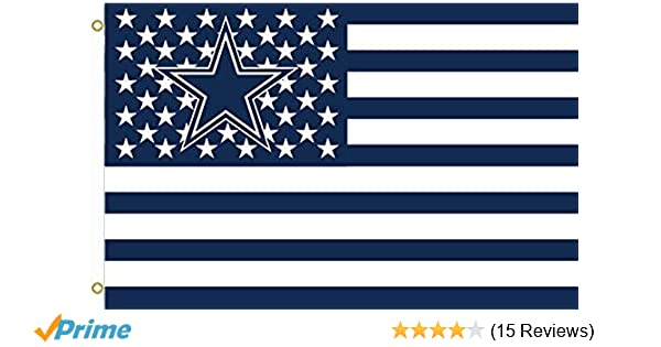 Amazon.com   NFL Dallas Cowboys Stars and Stripes Flag Banner 3X5 FT USA  FLAG f5c513789
