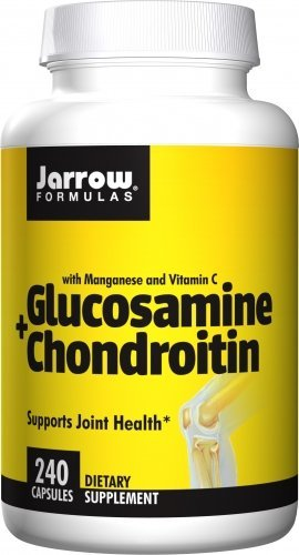 Jarrow Formulas Glucosamine and Chondroitin, Supports Joint Health, 240 Caps