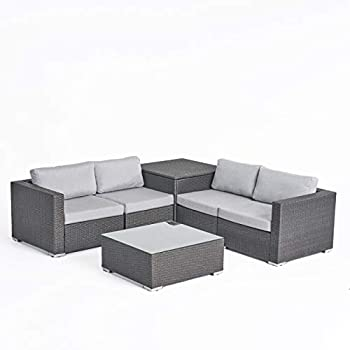 Amazon Com Great Deal Furniture Kyra Outdoor 6 Seater