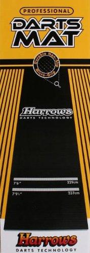 Harrows Rubber Throw Line Dart Mat by Dart World