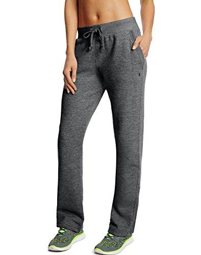 Women's Open Bottom Sweatpants Granite Heather S