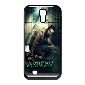 J-LV-F Customized Green Arrow Pattern Protective Case Cover Skin for Samsung Galaxy S4 I9500