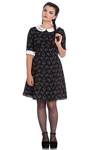 Kleid Bunny MATOU 4750 Mini Hell Dress Black Black TFOpaanP