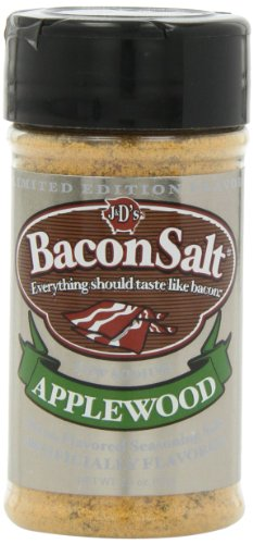 J&D's Bacon Salt, Applewood, 2.5 Ounce (Pack of 3)