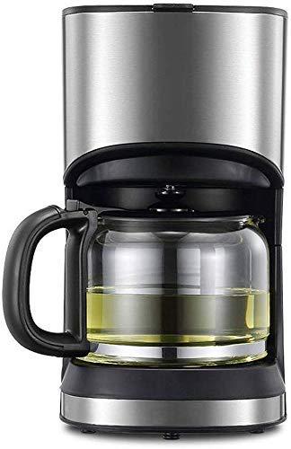 YAeele Filtro de café de la máquina, 1.2L Filtro Cafetera 800W One Touch, Goteo Cafetera Mantener Caliente Anti-Goteo…