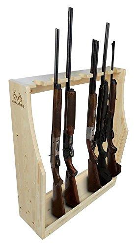 Wooden Gun Rack - 6