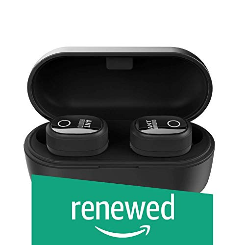 (Renewed) Ant Audio Wave Sports TWS 720 Bluetooth 5.0 Wireless Earbuds IPX5 with Long-Lasting Bass Headset Stereo Headphones in-Ear Dual Channel Earphones Built-in Mic with Charging Case - Black (B084YWDNK6) Amazon Price History, Amazon Price Tracker