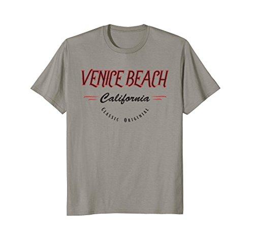 Venice Beach California Surf Style T-Shirt, Original - Boardwalk Venice Shops Beach
