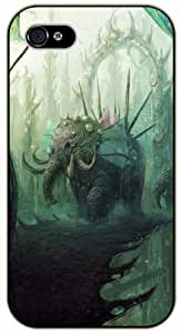 iPhone 6 Fantasy elephant - black plastic case / Animals and Nature By SHURELOCK TM