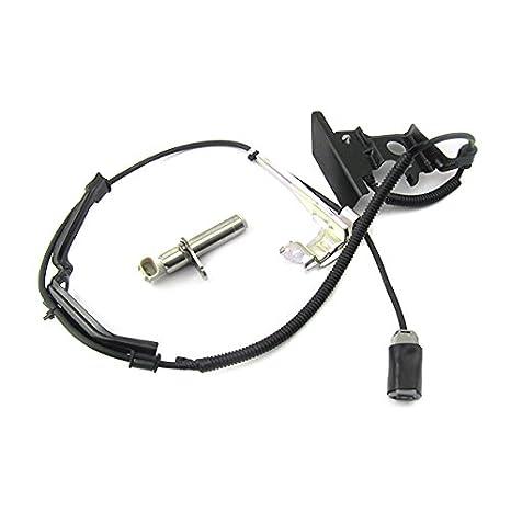 exkow ABS Sensor de velocidad de la rueda trasero derecho 04895 - 60080 para Toyota Land Cruiser fzj80 HDJ80 GX VX, longitud: mm 53.1: Amazon.es: Coche y ...