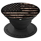 Camo American Flag - PopSockets Grip and Stand for Phones and Tablets